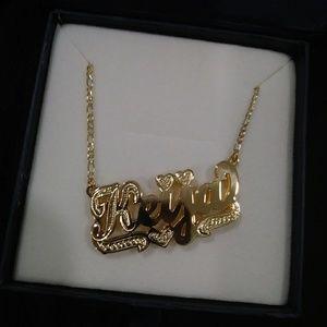 Personalized 14K gold jewelry